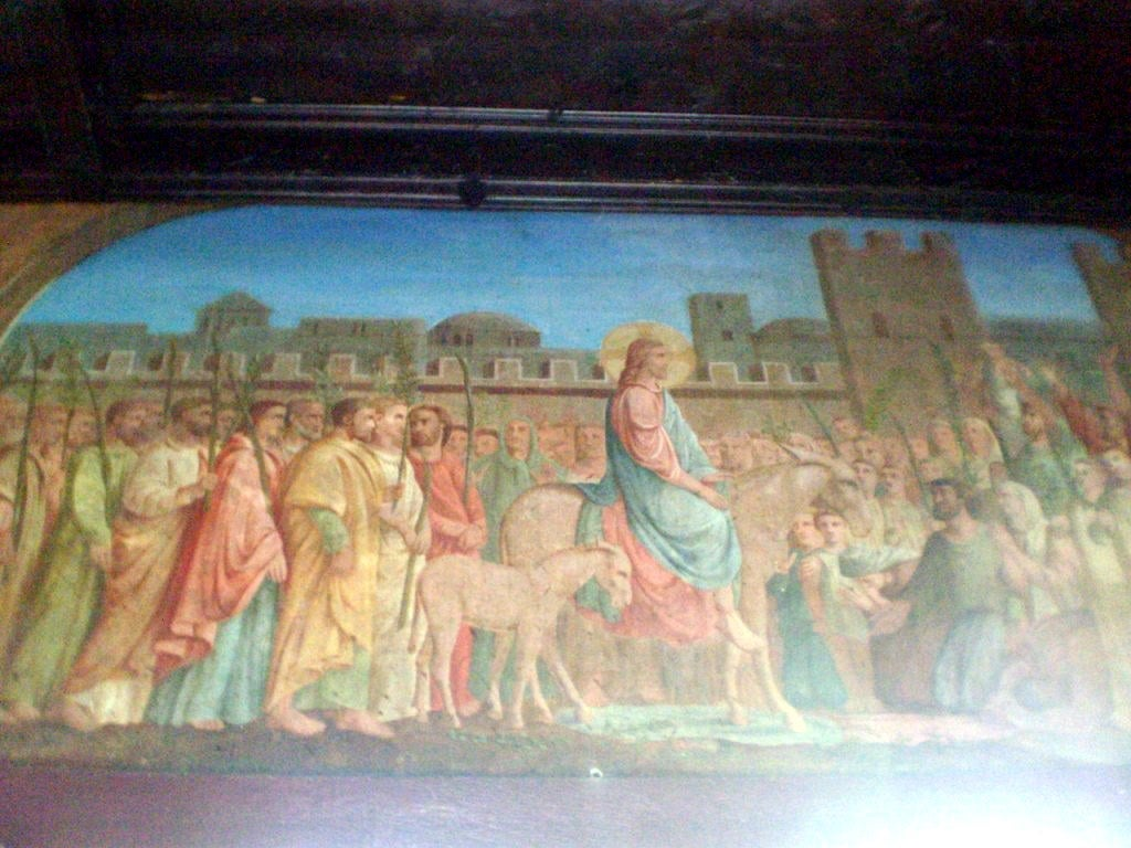 Mural en Cathedral Basilica of the Immaculate Conception