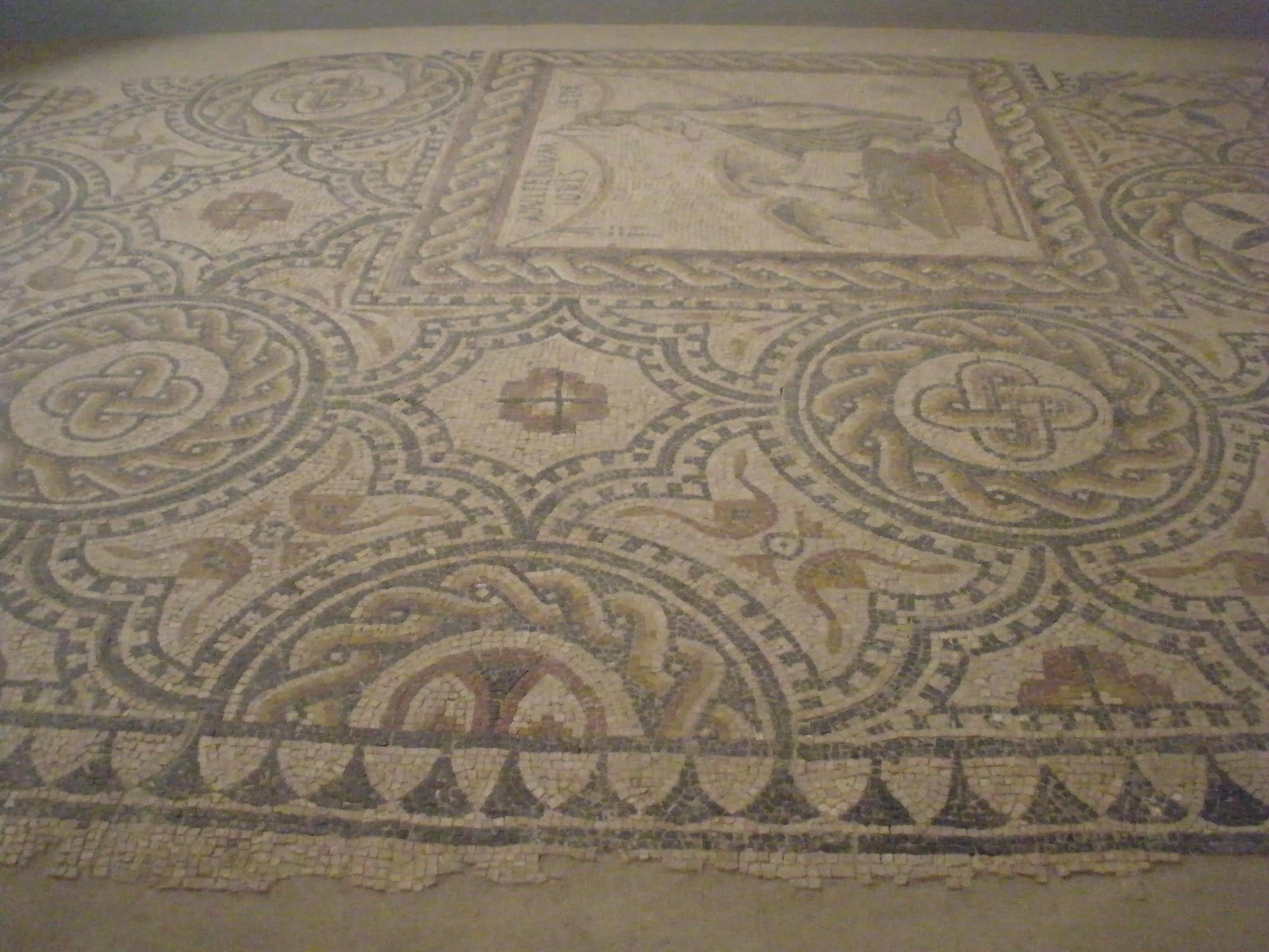 Suelo en Museo Arqueológico Regional