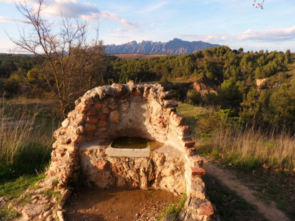 Viewpoint of La Anoia