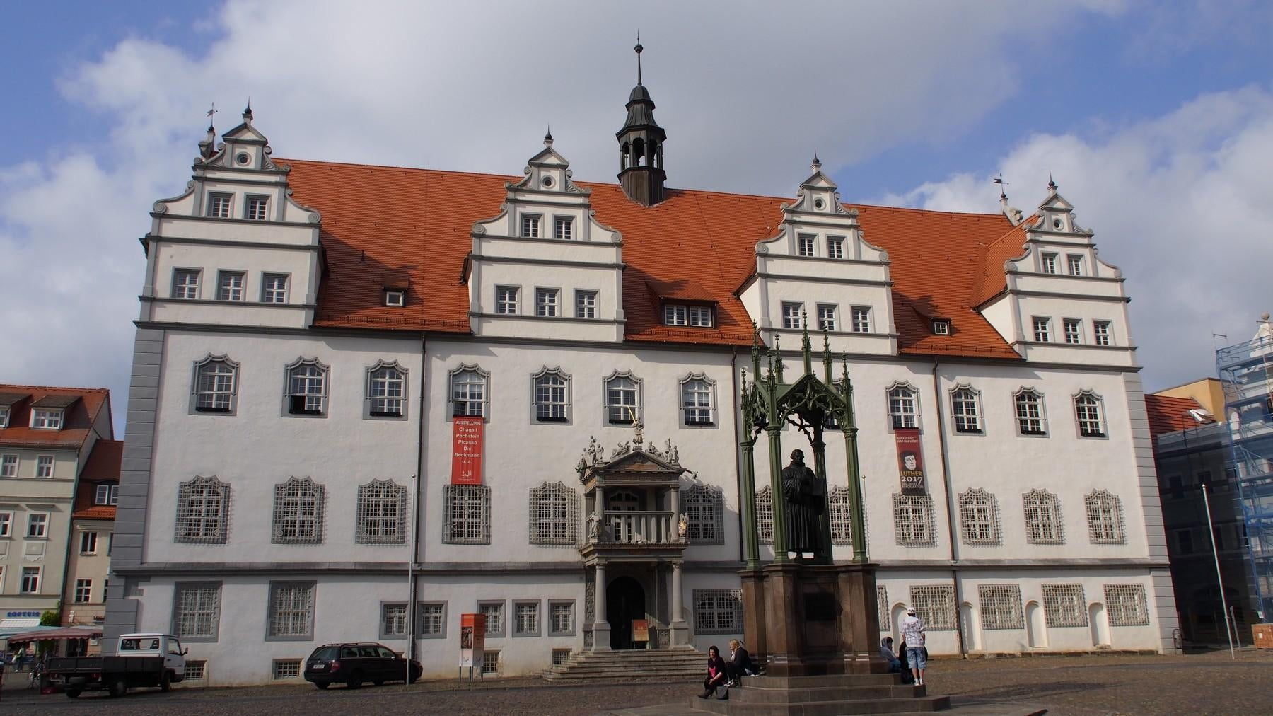 Luther memorials in Wittenberg