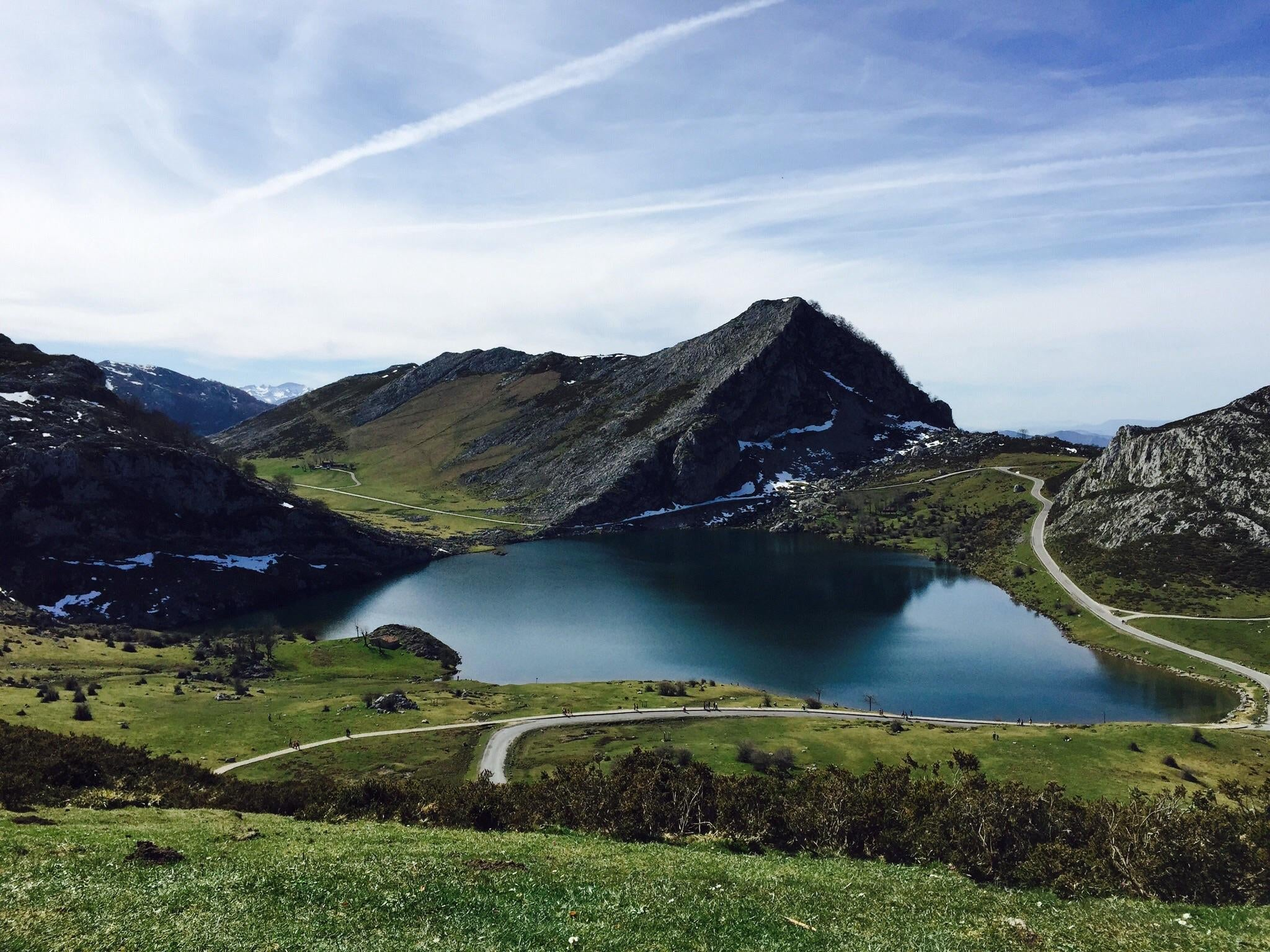 Mount Scenery in The Lakes of Covadonga - Enol and Ercina lakes