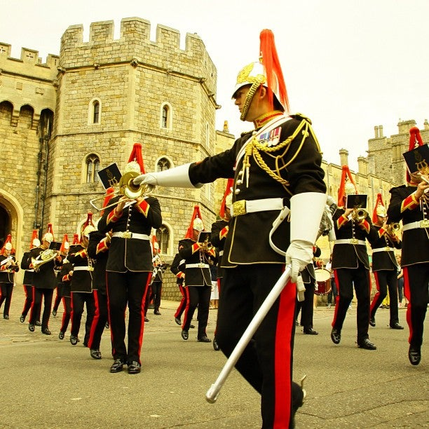 Conjunto musical en Castillo de Windsor