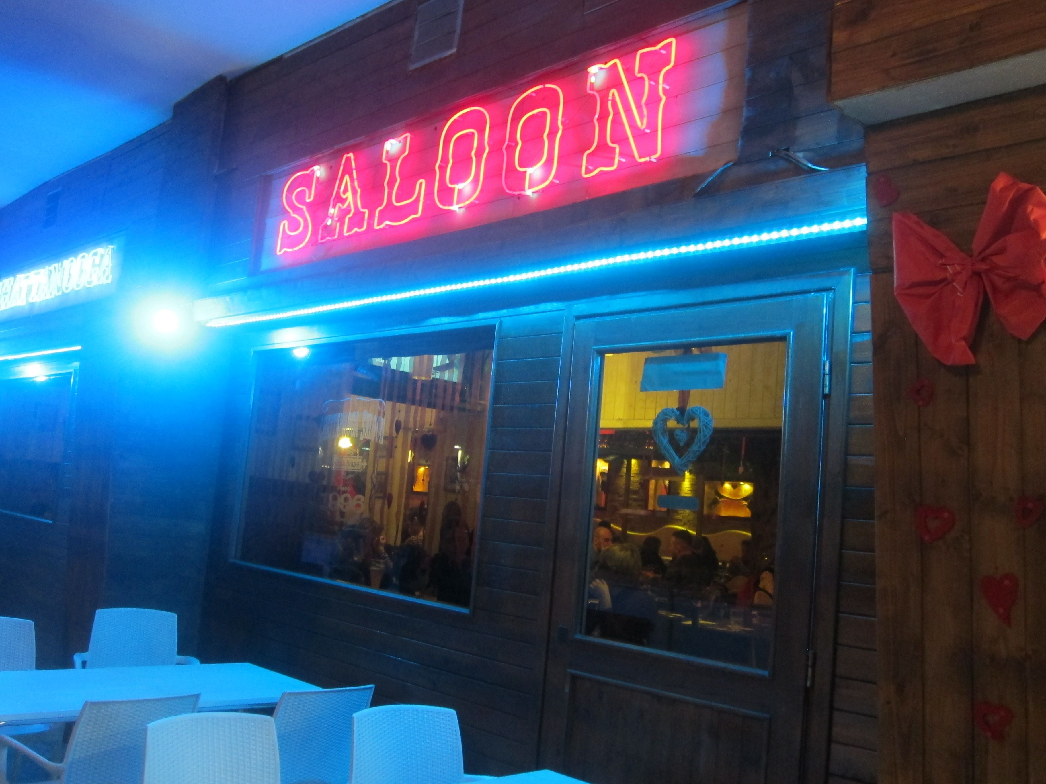 Restaurante en Chattanooga Saloon
