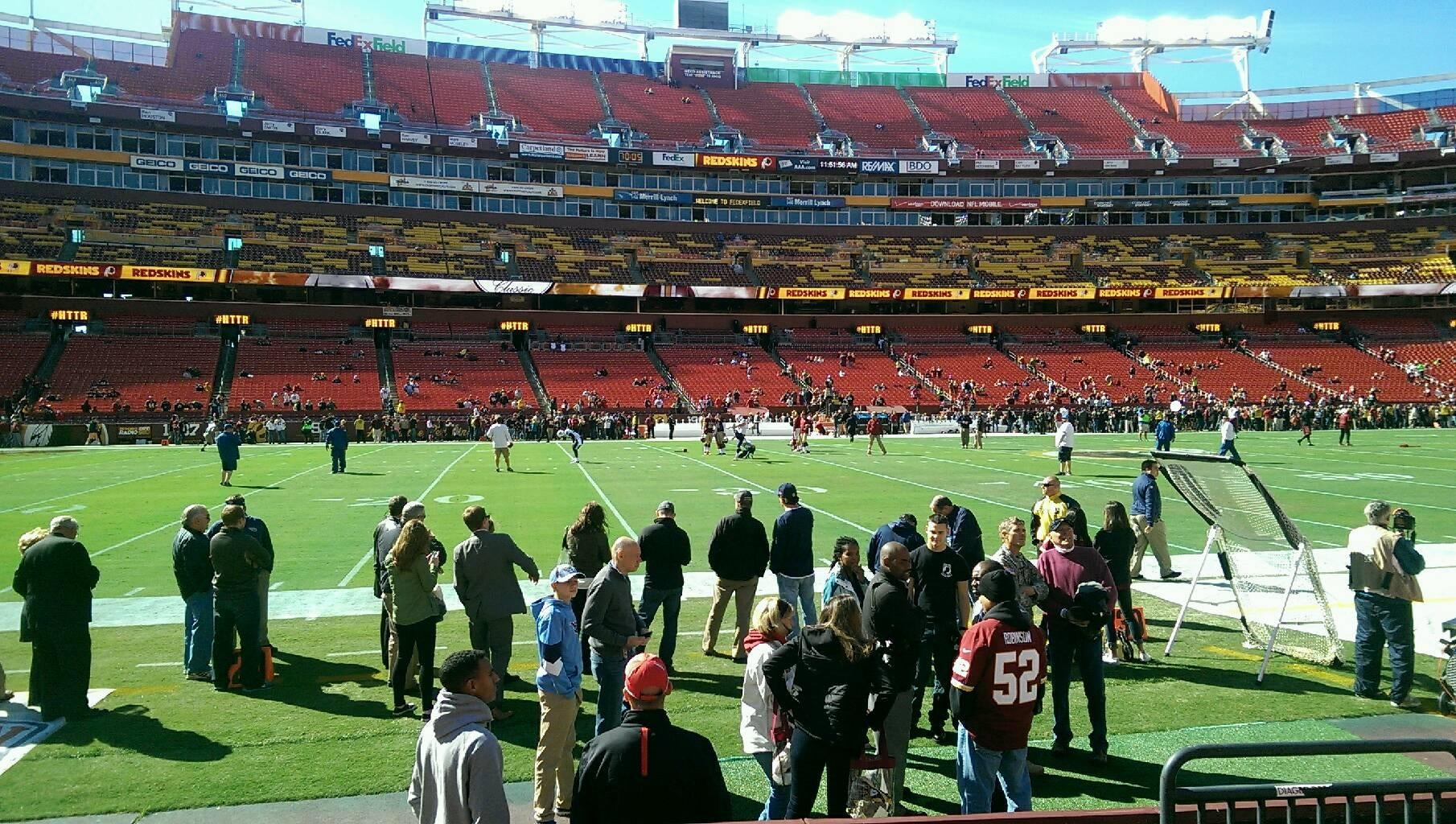 Fútbol canadiense en FedExField
