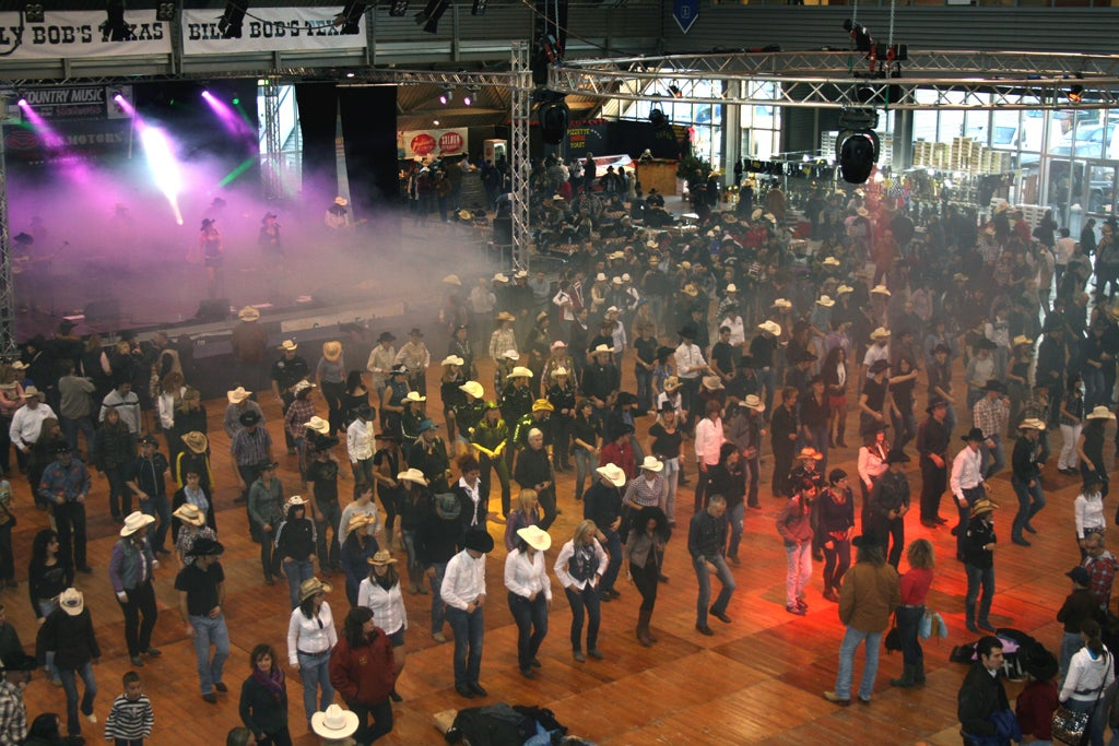 Sala de conciertos en Festival Country Christmas