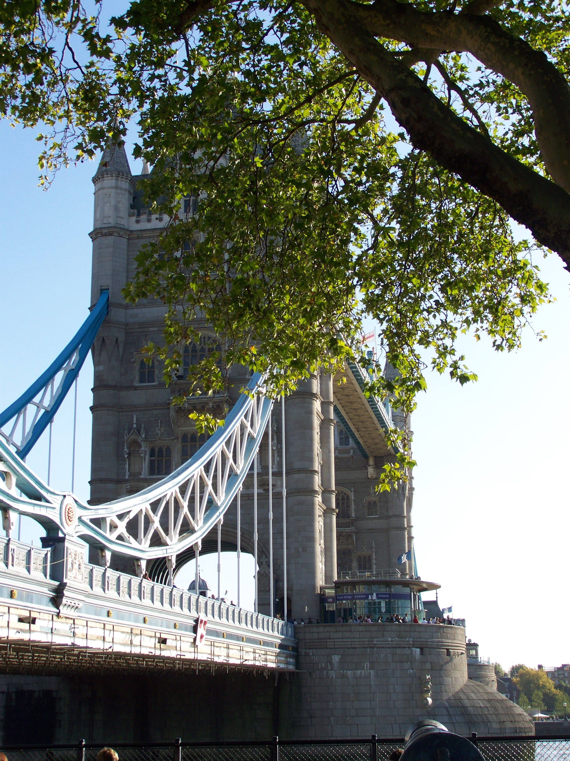 Monumento en Tower Bridge