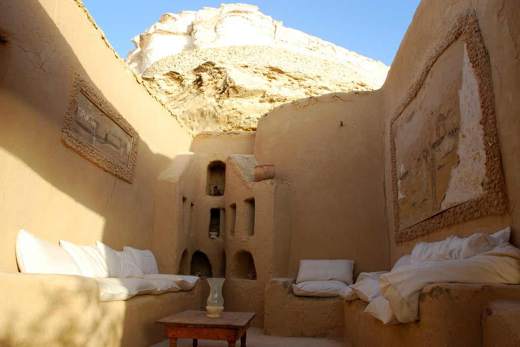 Hotel Adrere Amellal: Desert Ecolodge