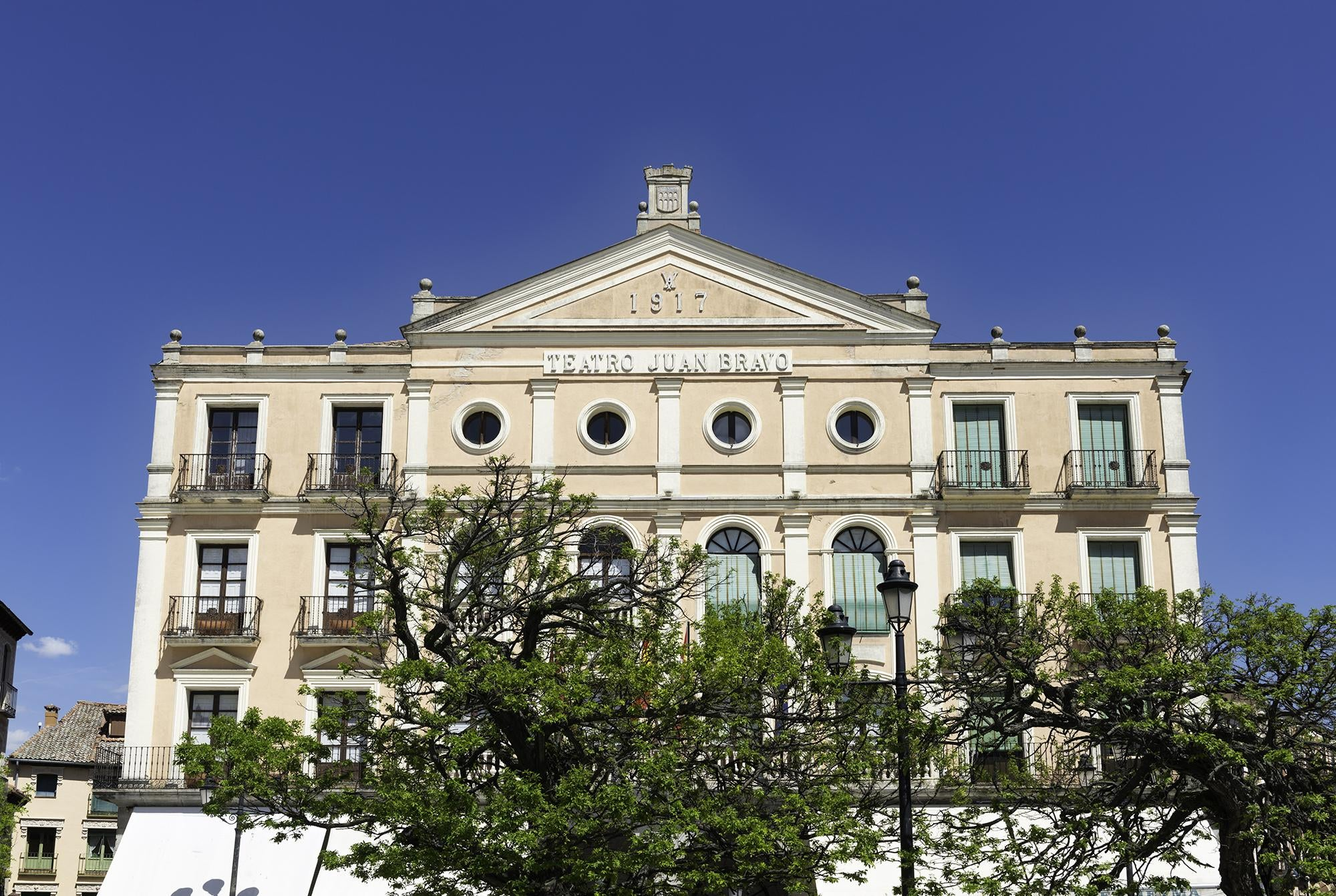 Palacio de justicia en Plaza Mayor