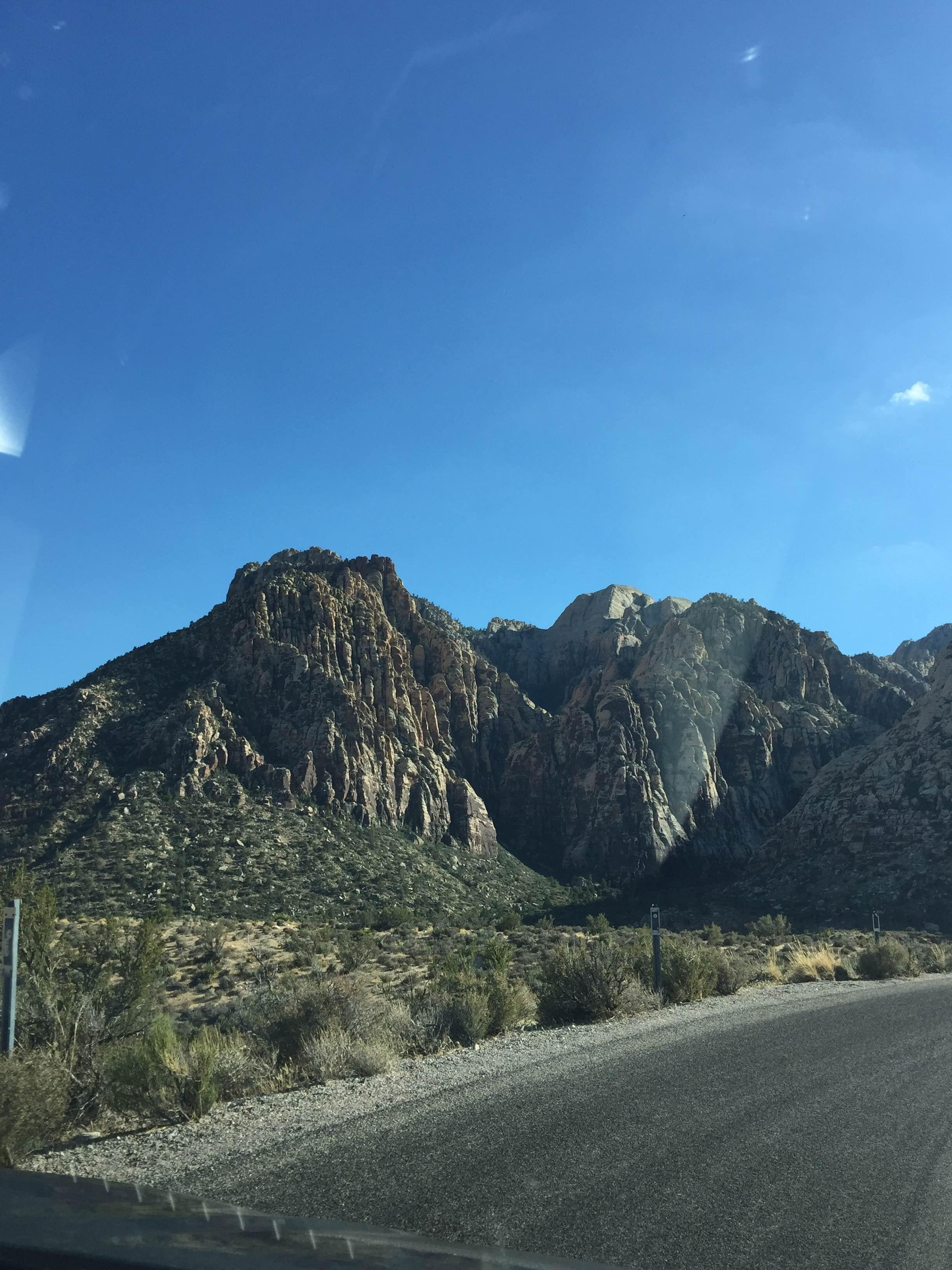 Colina en Red Rock Canyon National Conservation Area