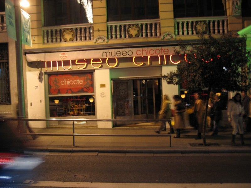 Calle en Museo Chicote
