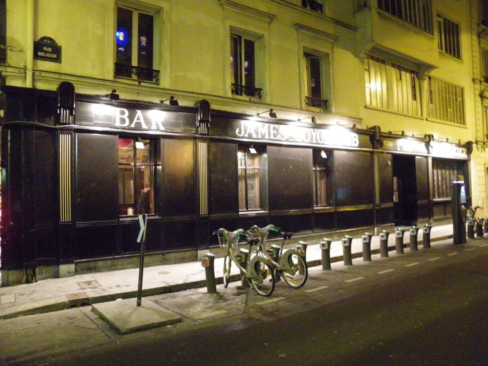 james joyce pub paris 1 exp riences et 2 photos. Black Bedroom Furniture Sets. Home Design Ideas