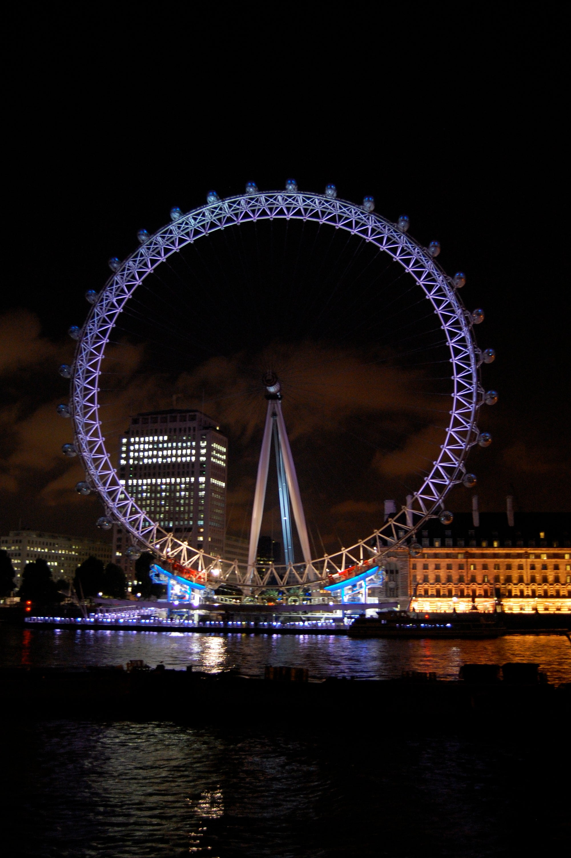 Oscuridad en London Eye