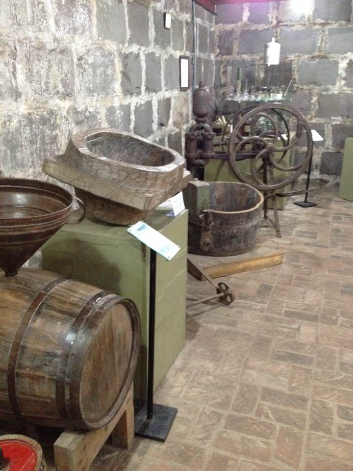 Barril en Museu da Uva e do Vinho