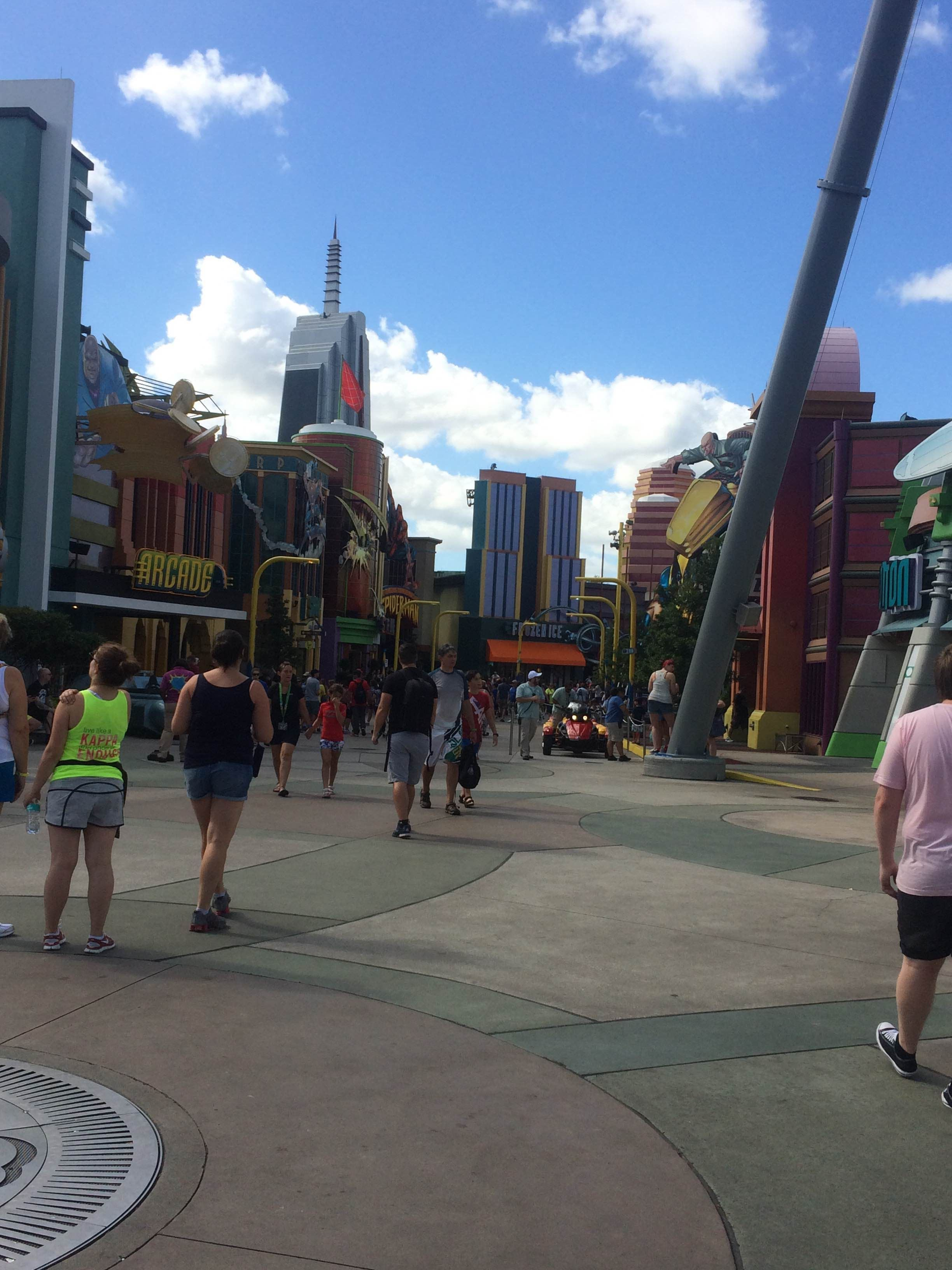 Paseo en Islands of Adventure