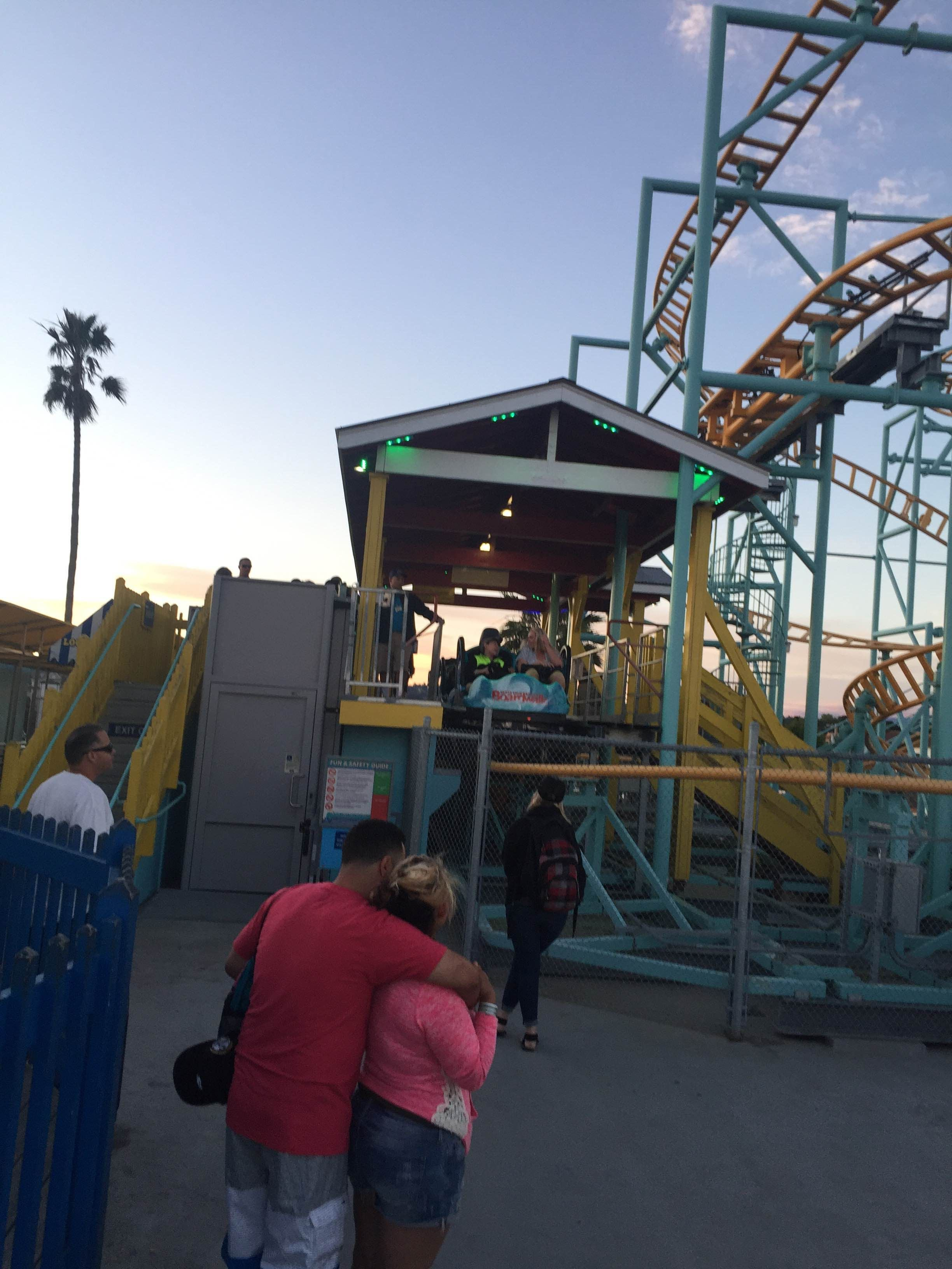 Parque de atracciones en Santa Cruz Beach Boardwalk