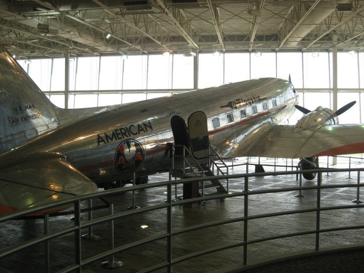 Aeronave en American Airlines, C.R. Smith Museum