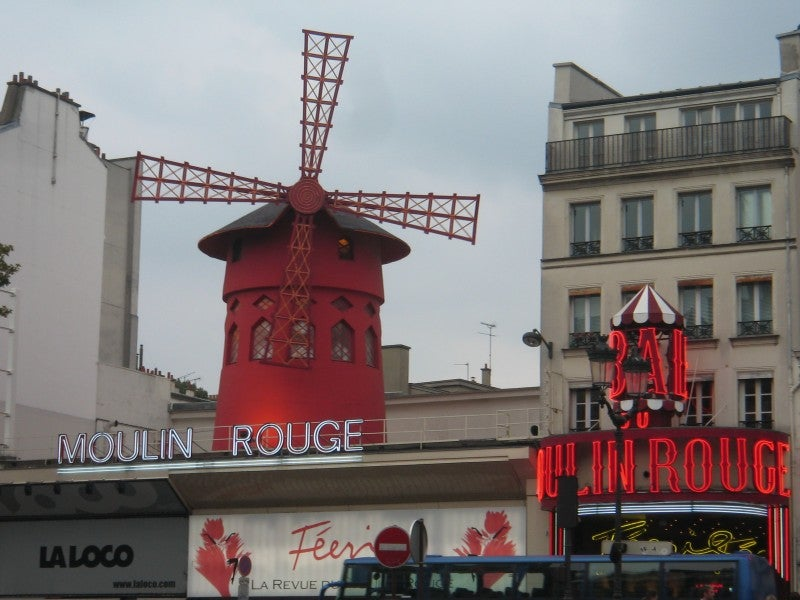 Calle en Moulin Rouge