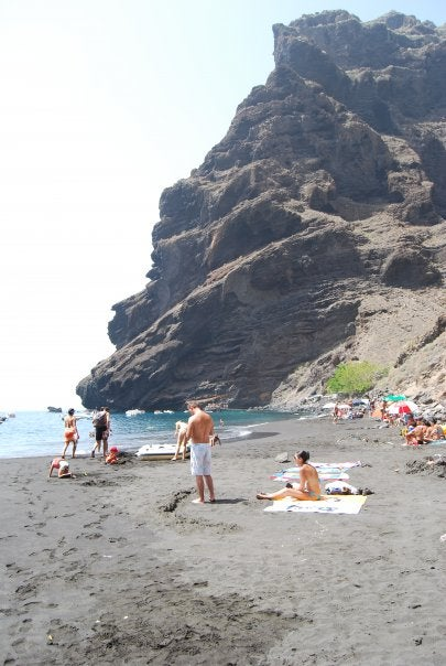 Playa en Barranco de Masca