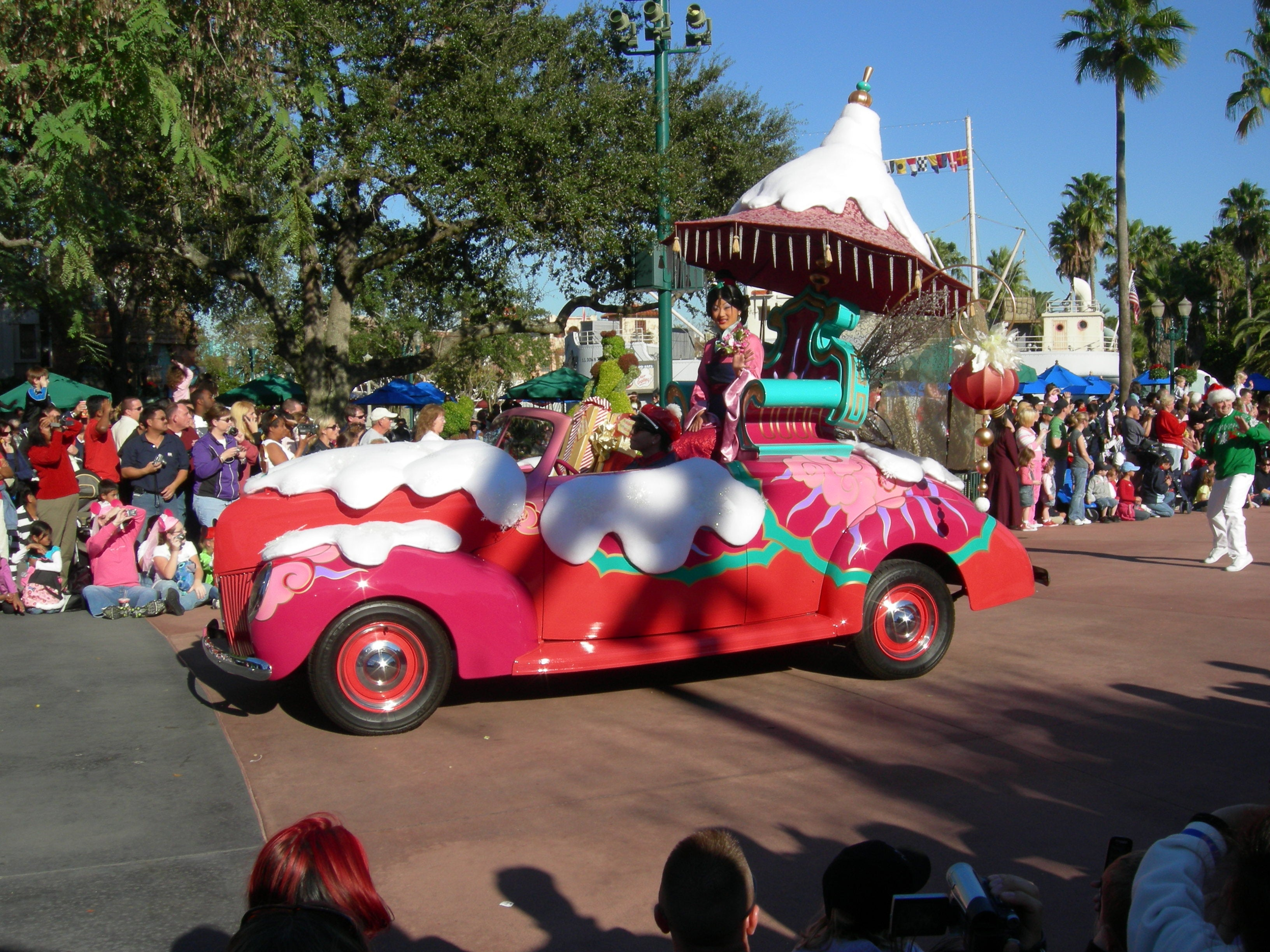 Color rosa en Disney's Hollywood Studios