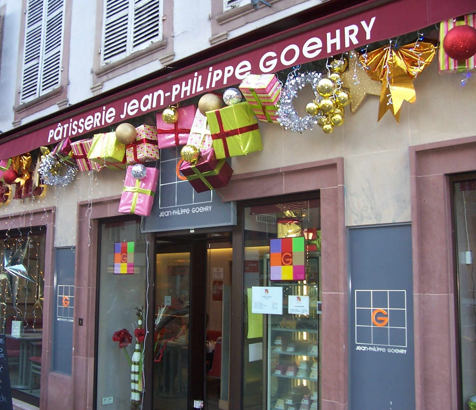 Pâtisserie Jean-Philippe Goehry