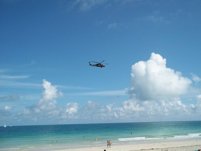 Vuelo en South Beach