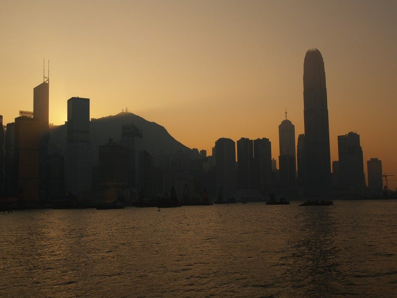 Skyline de Hong Kong