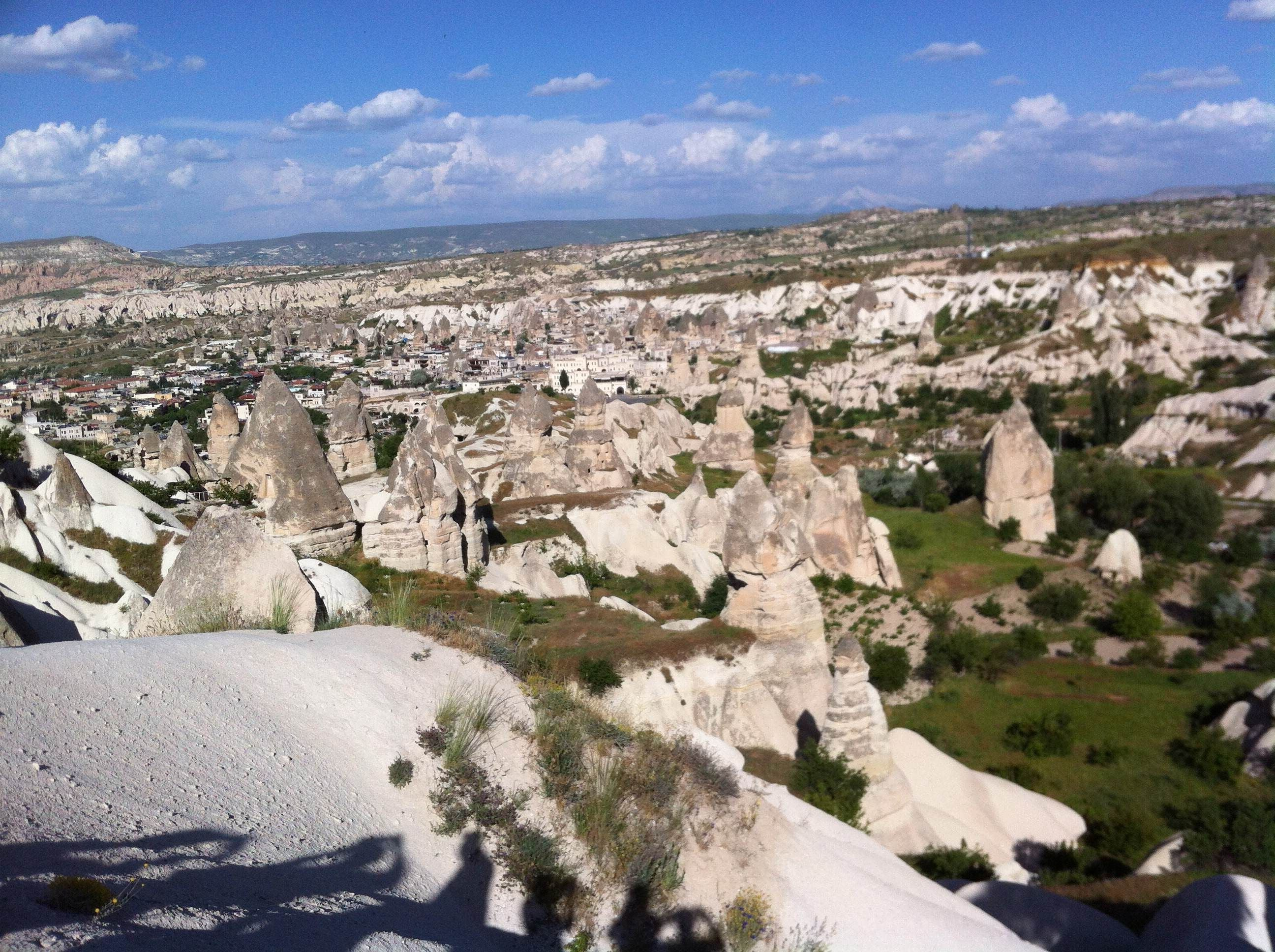Nieve en Mirador de Göreme - Sunset Point