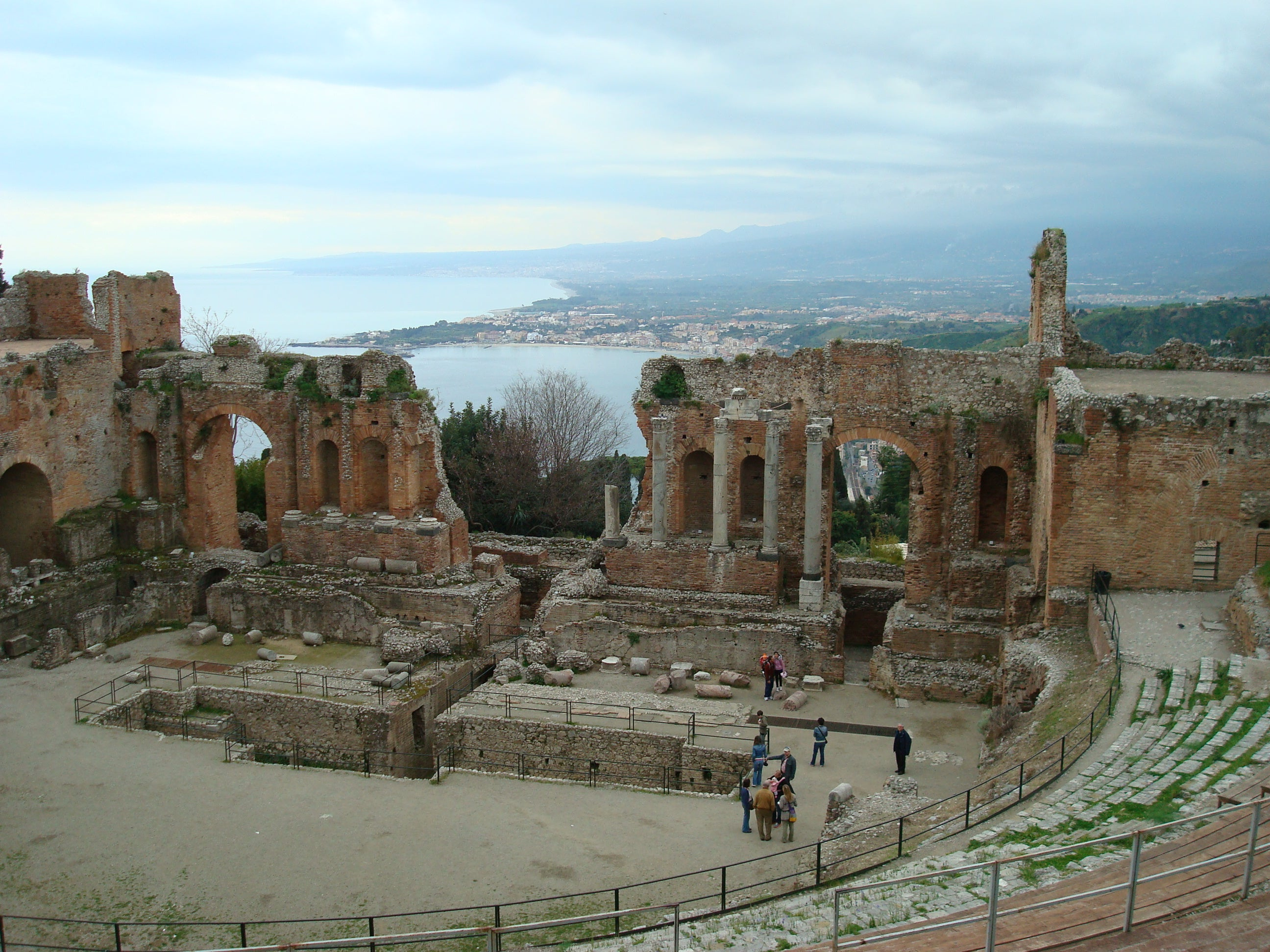 Ancient theatre of Taormina