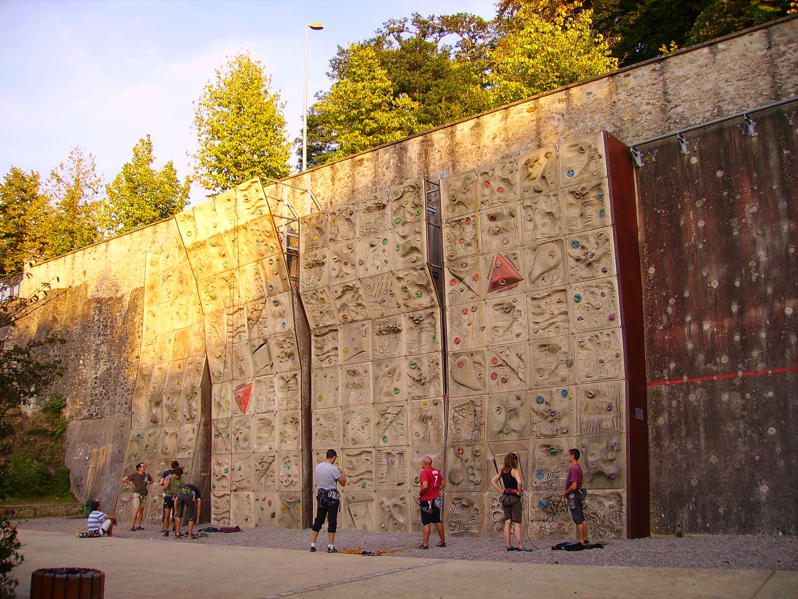 Limoges Climbing wall