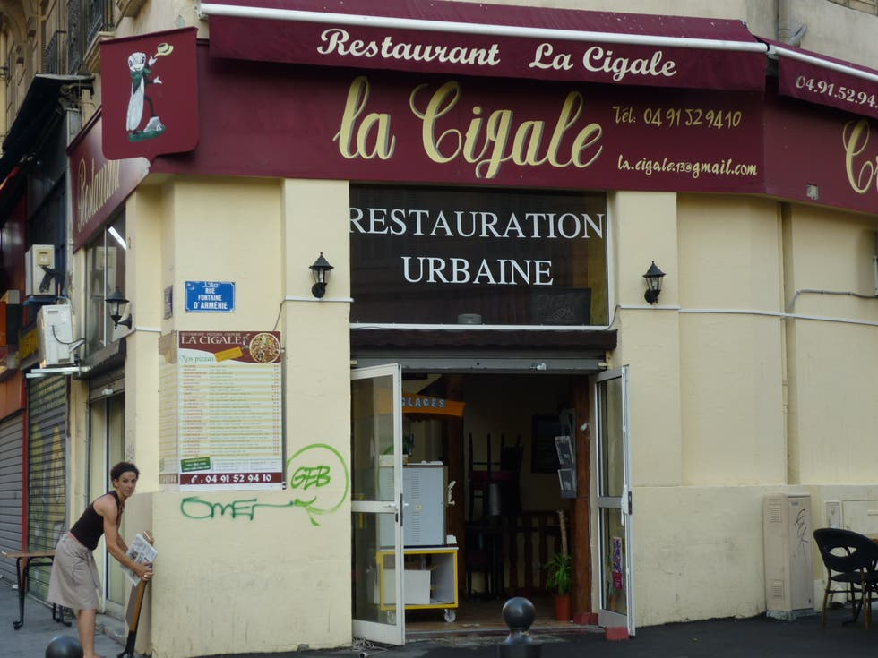 restaurant la cigale marseille 1 exp riences et 2 photos. Black Bedroom Furniture Sets. Home Design Ideas