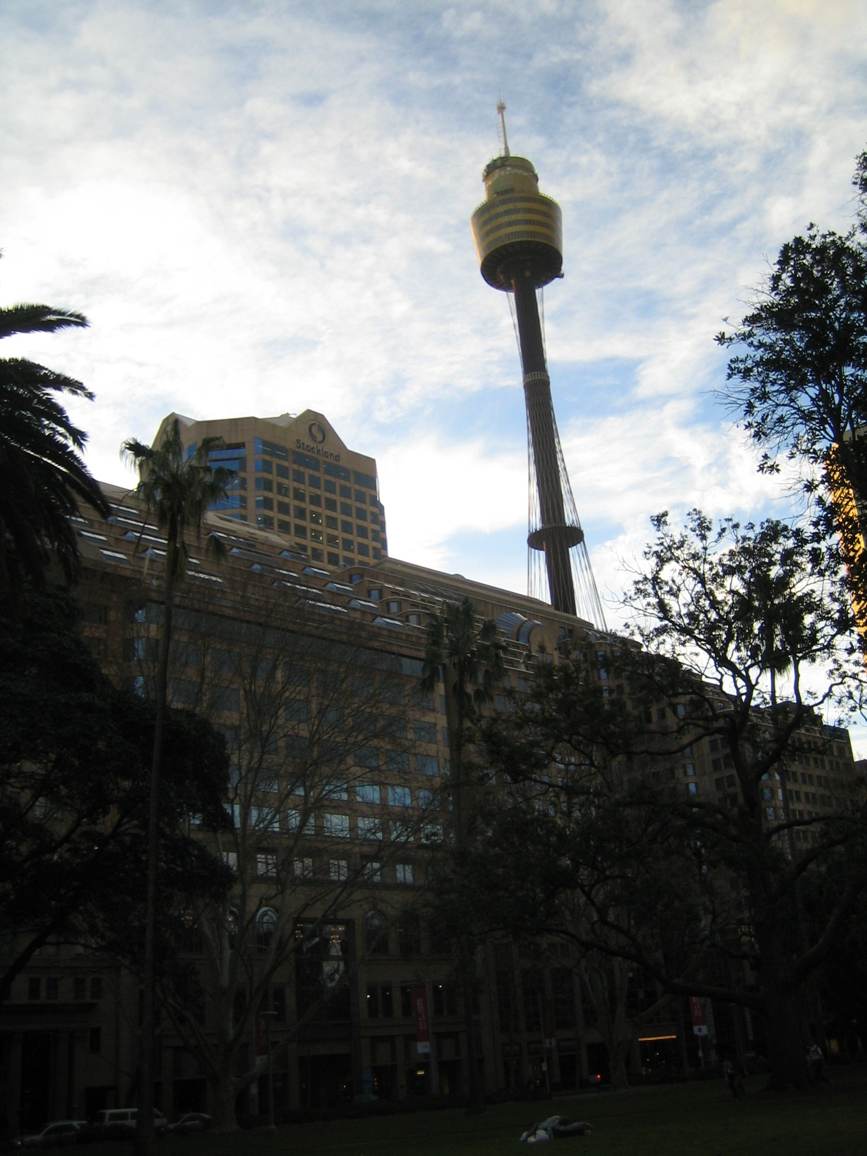 Pared en Sydney Tower