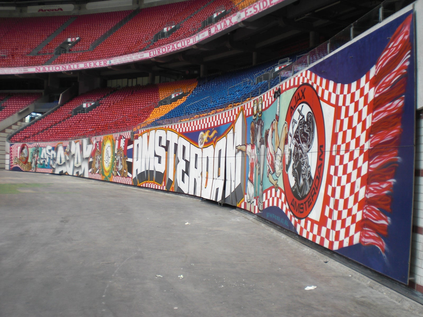 Pared en Ámsterdam Arena
