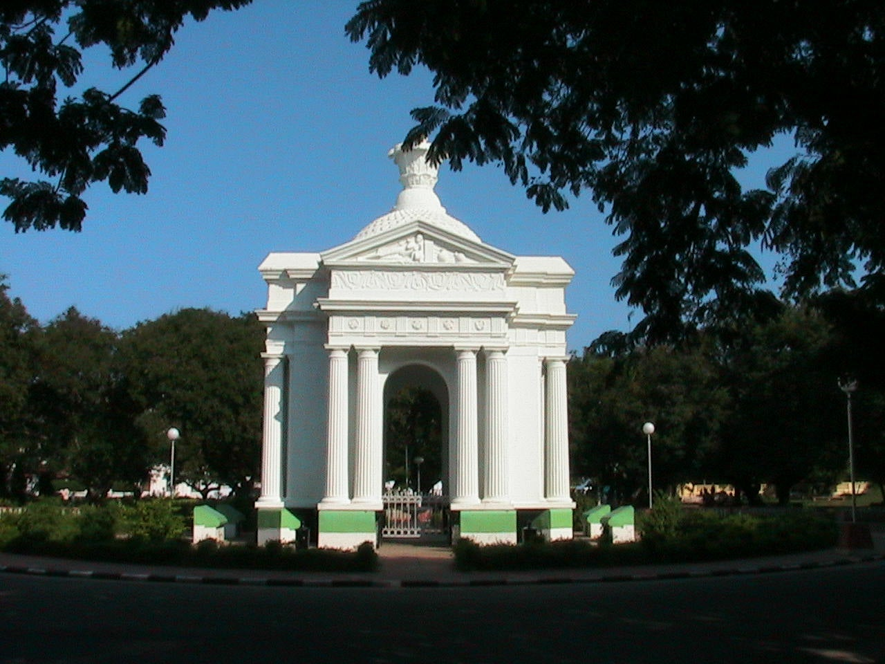 Memorial en Pondicherry