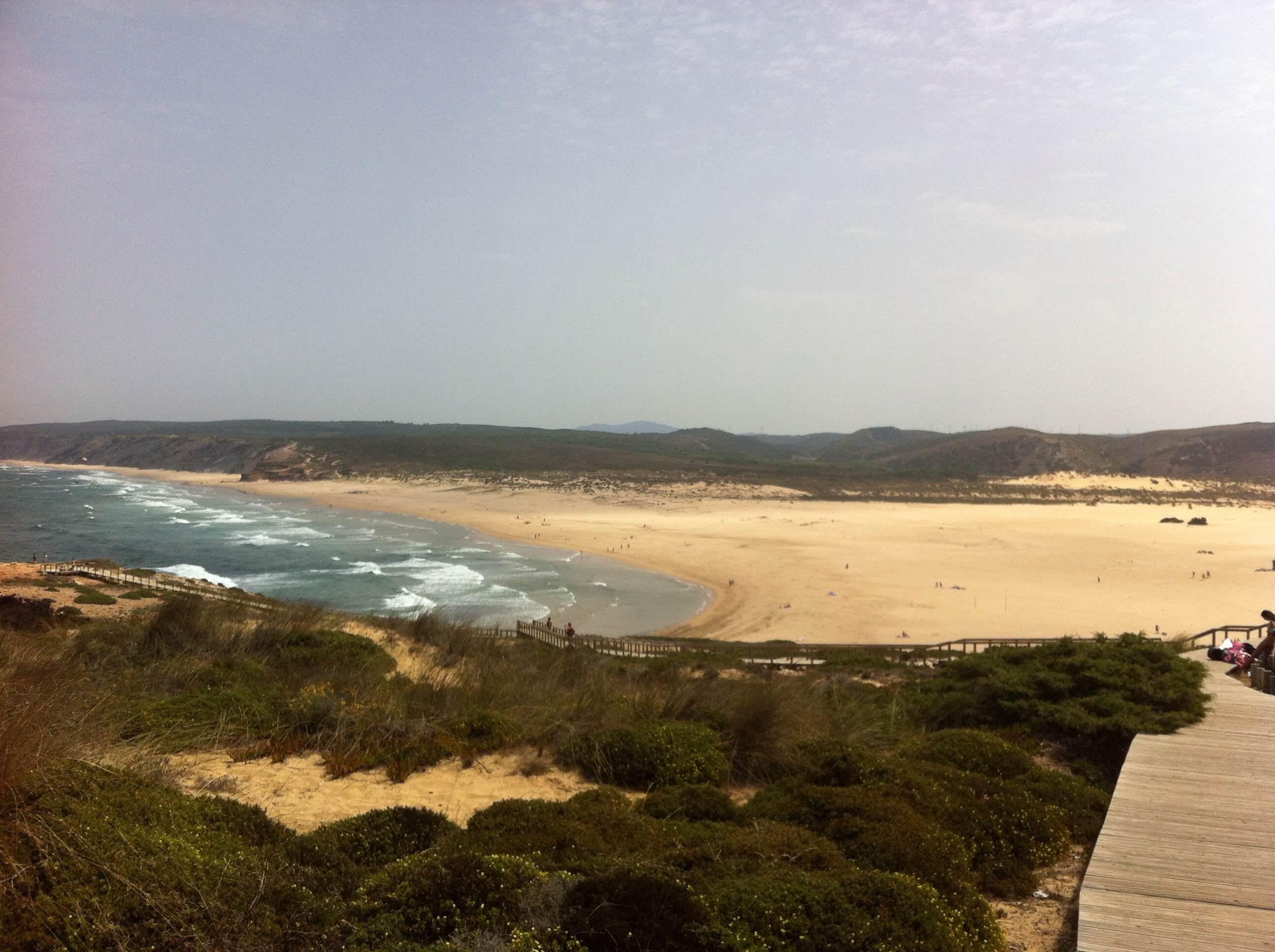 Cabo en Playa de Bordeira - Carrapateira