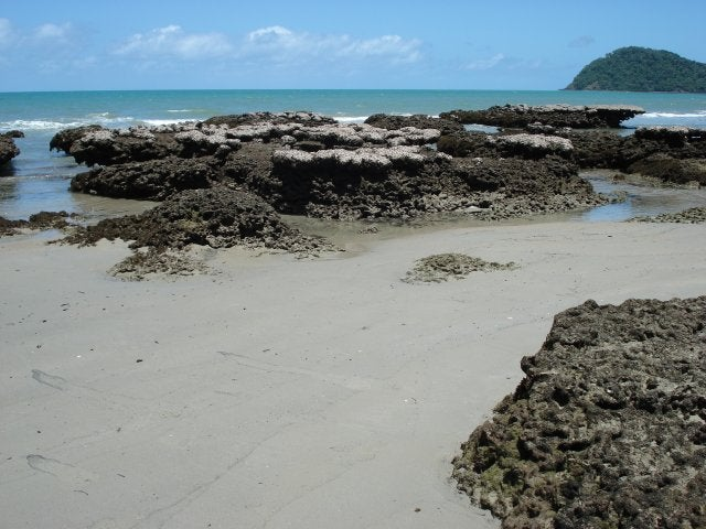 Bahía en Cape Tribulation