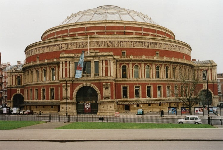 Emblemático en Royal Albert Hall