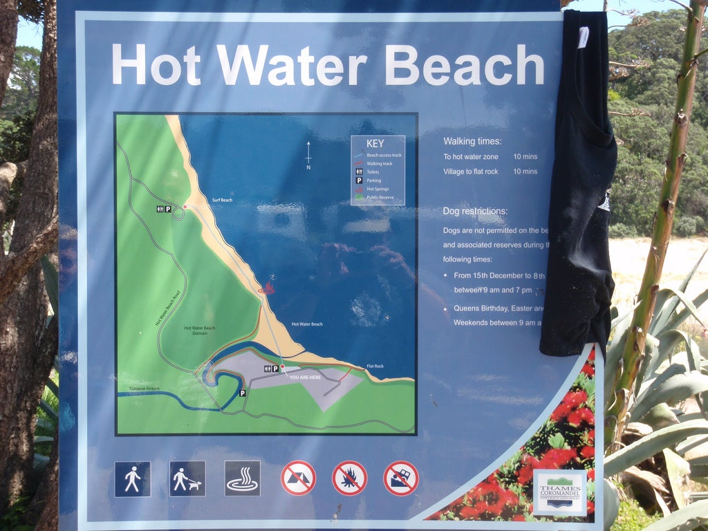 Póster en Hot water beach