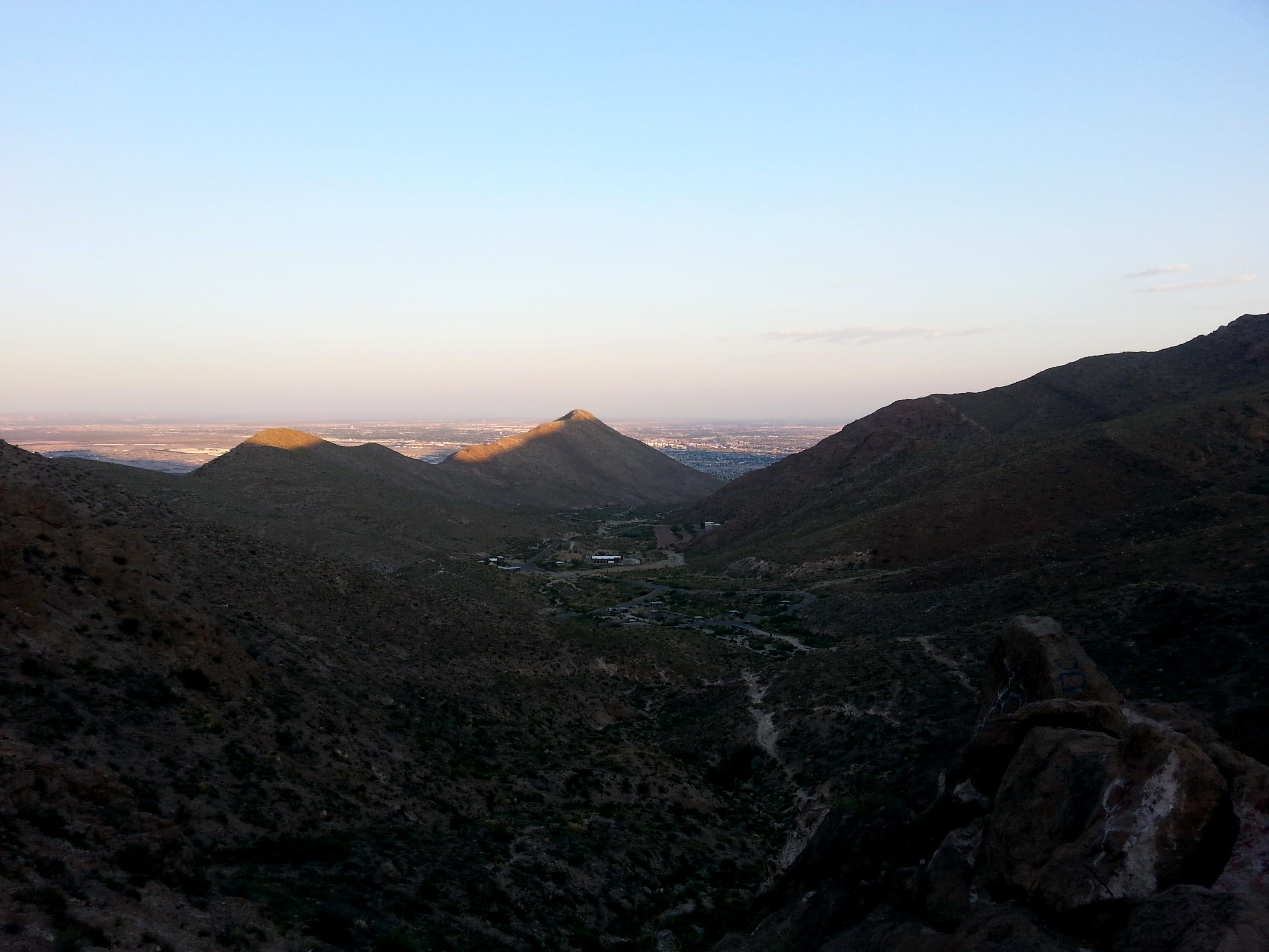 Paisaje en Franklin Mountains State Park