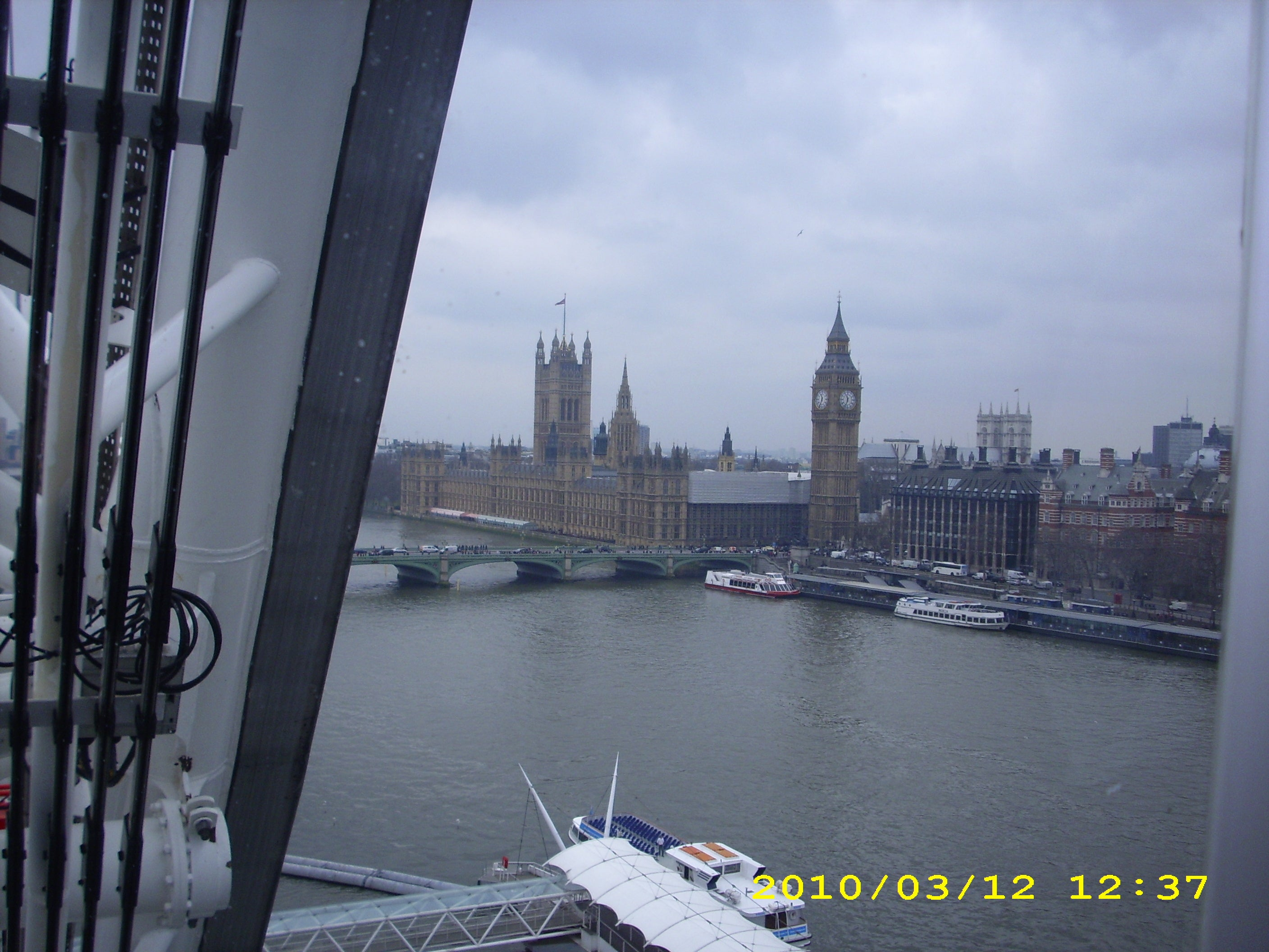 Mar en London Eye