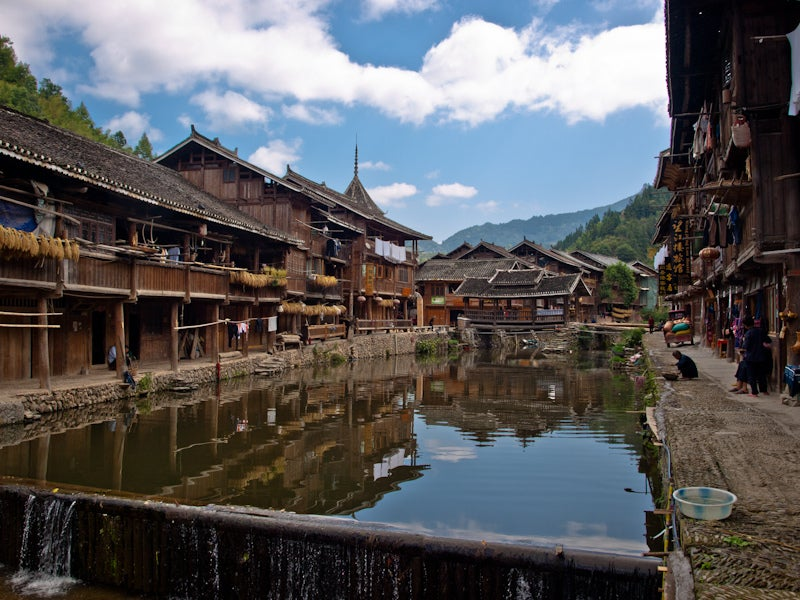 Zhaoxing: a real traditional village china
