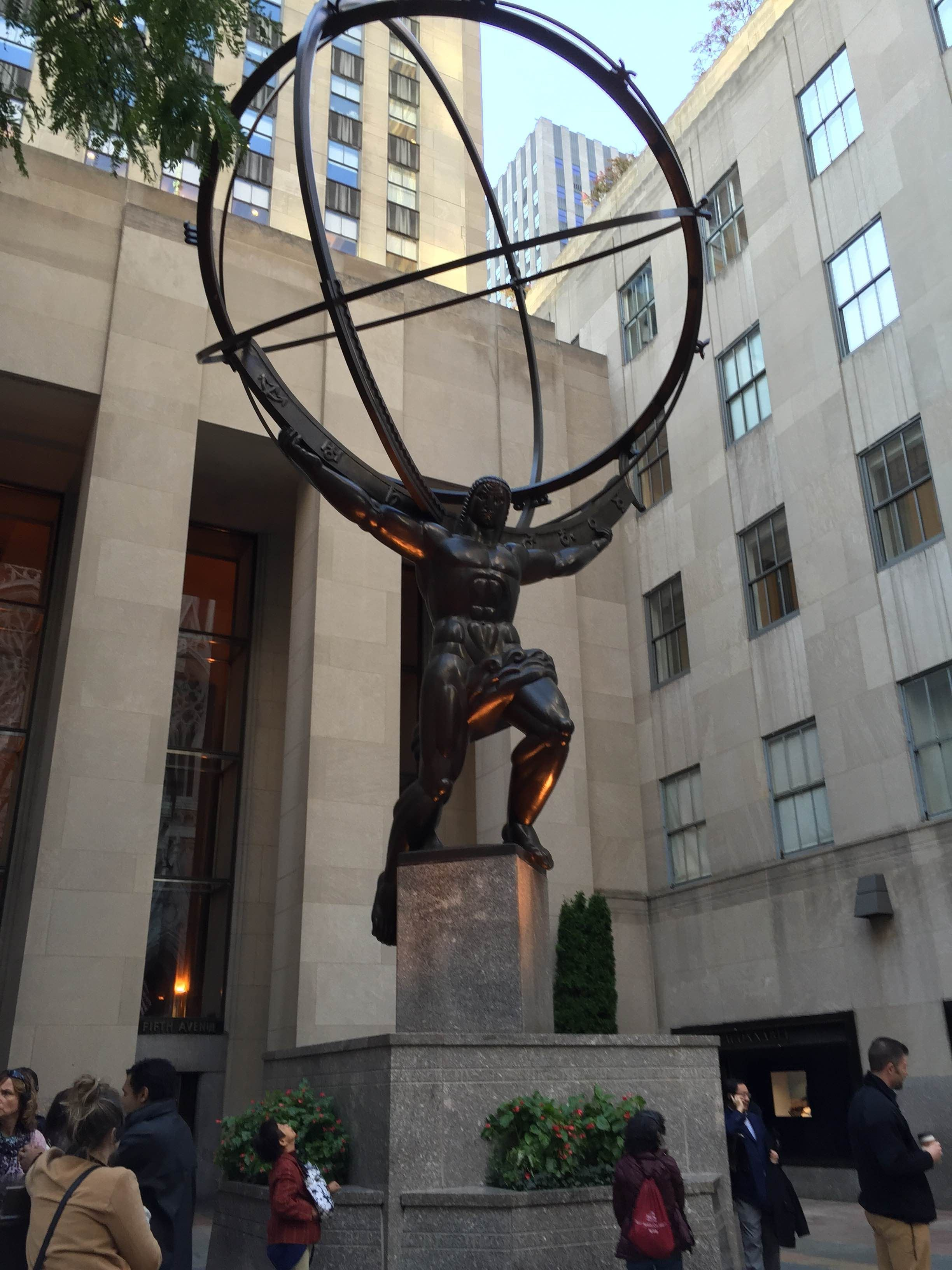 Fachada en Rockefeller Center