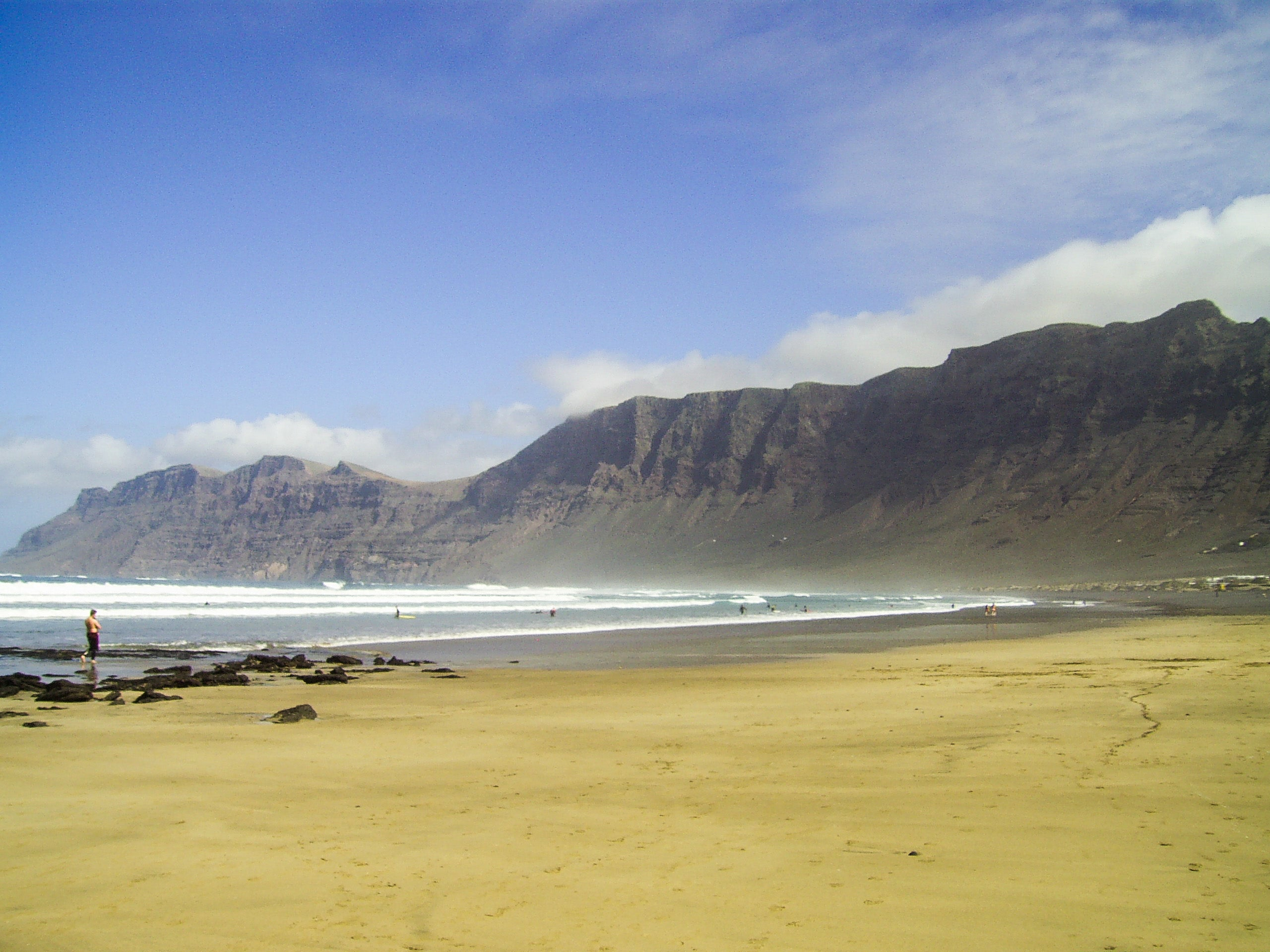 Mar en Playa de Famara