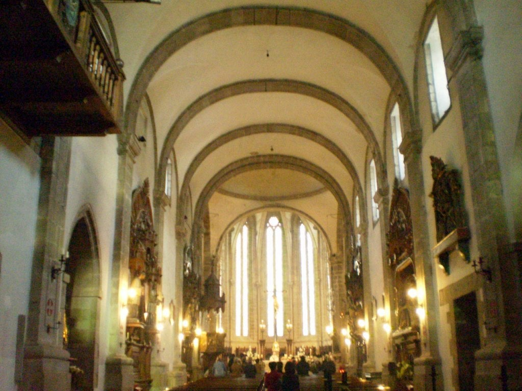 Interior of the Church of San Francisco