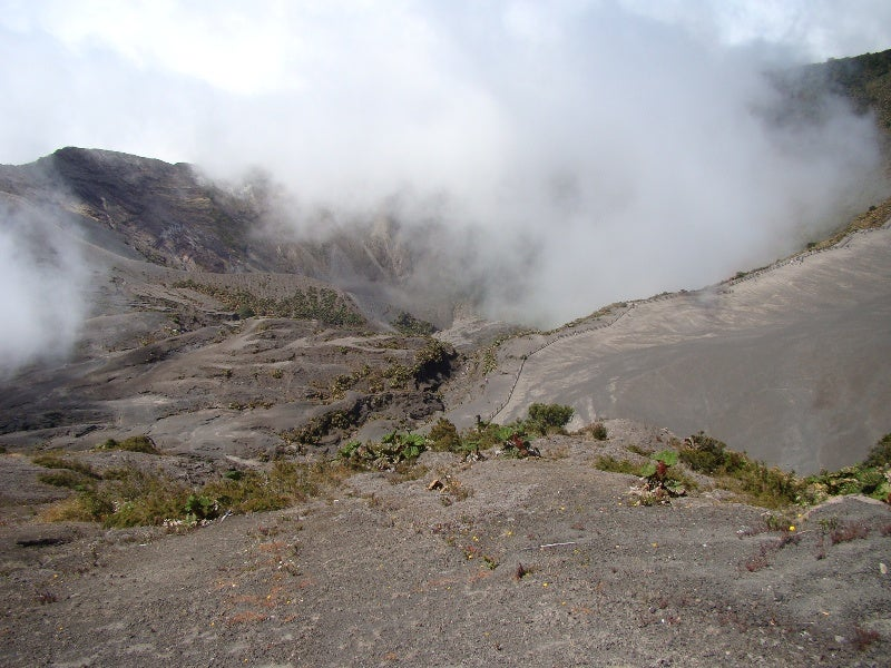 Irazú volcano National Park