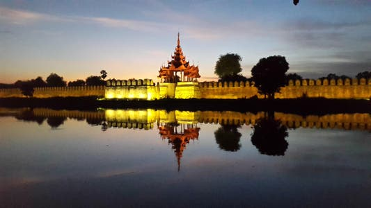 Royal Palace in Mandalay