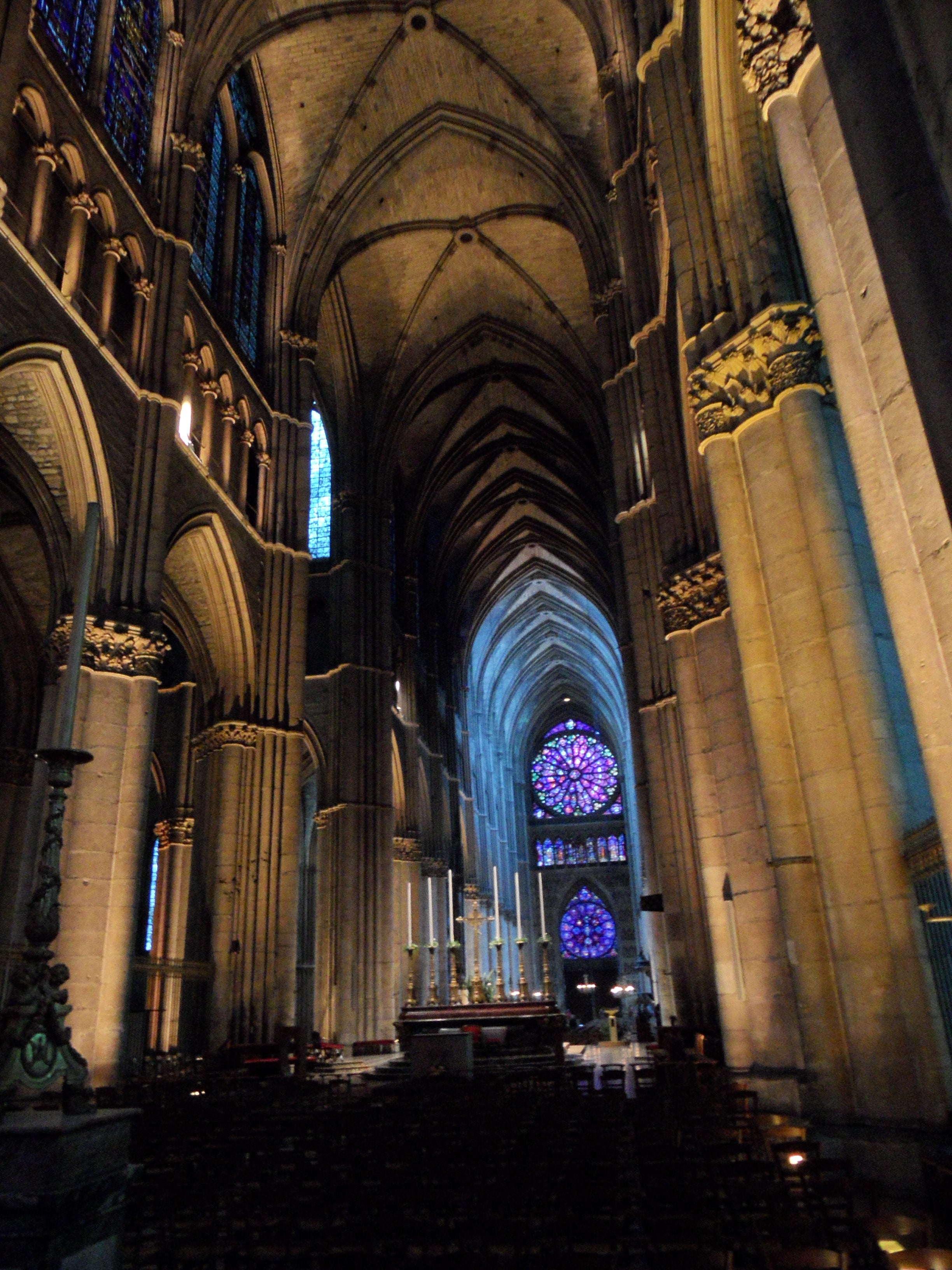 Arco en Catedral de Reims