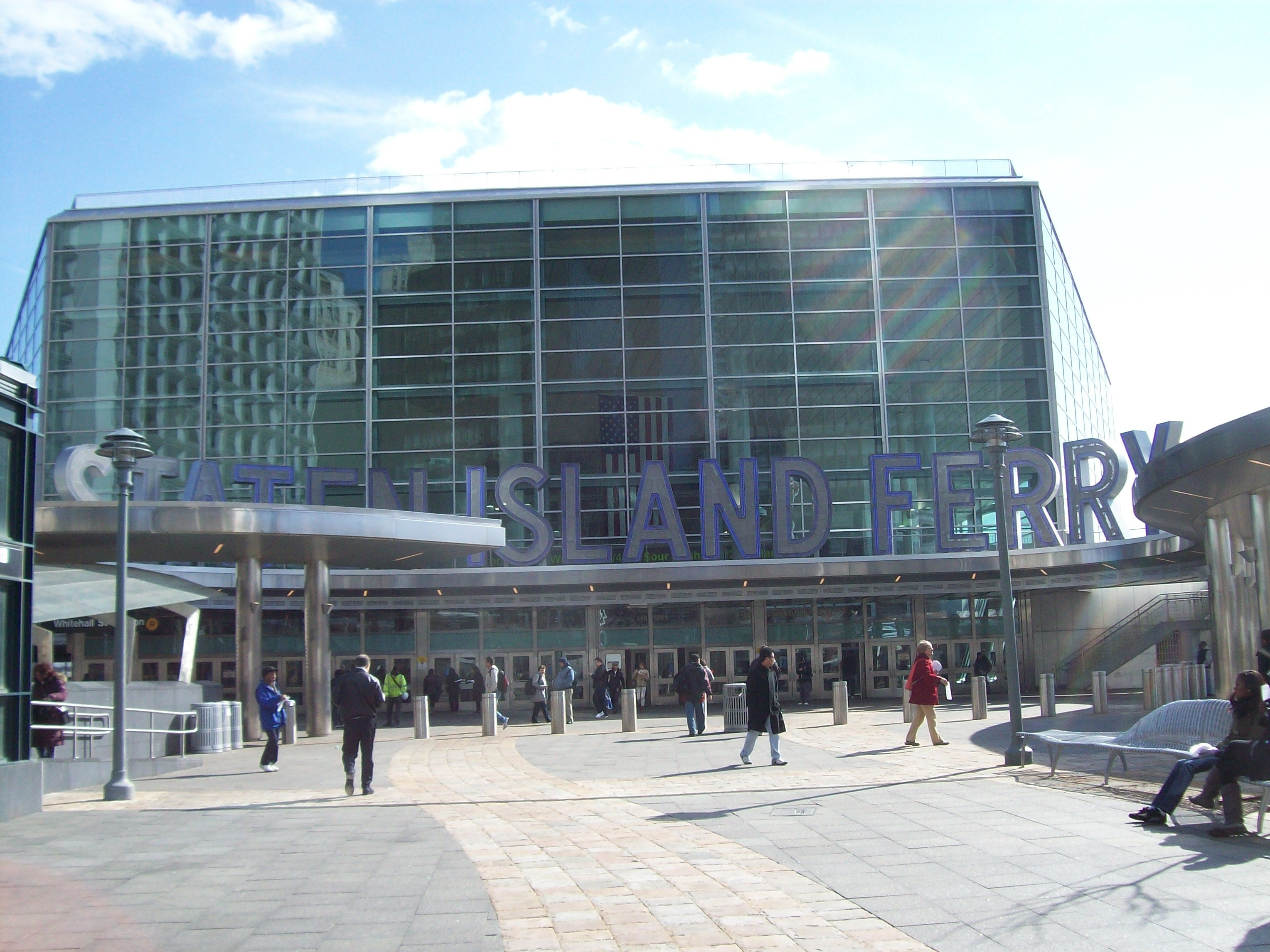Estadio en Staten Island Ferry