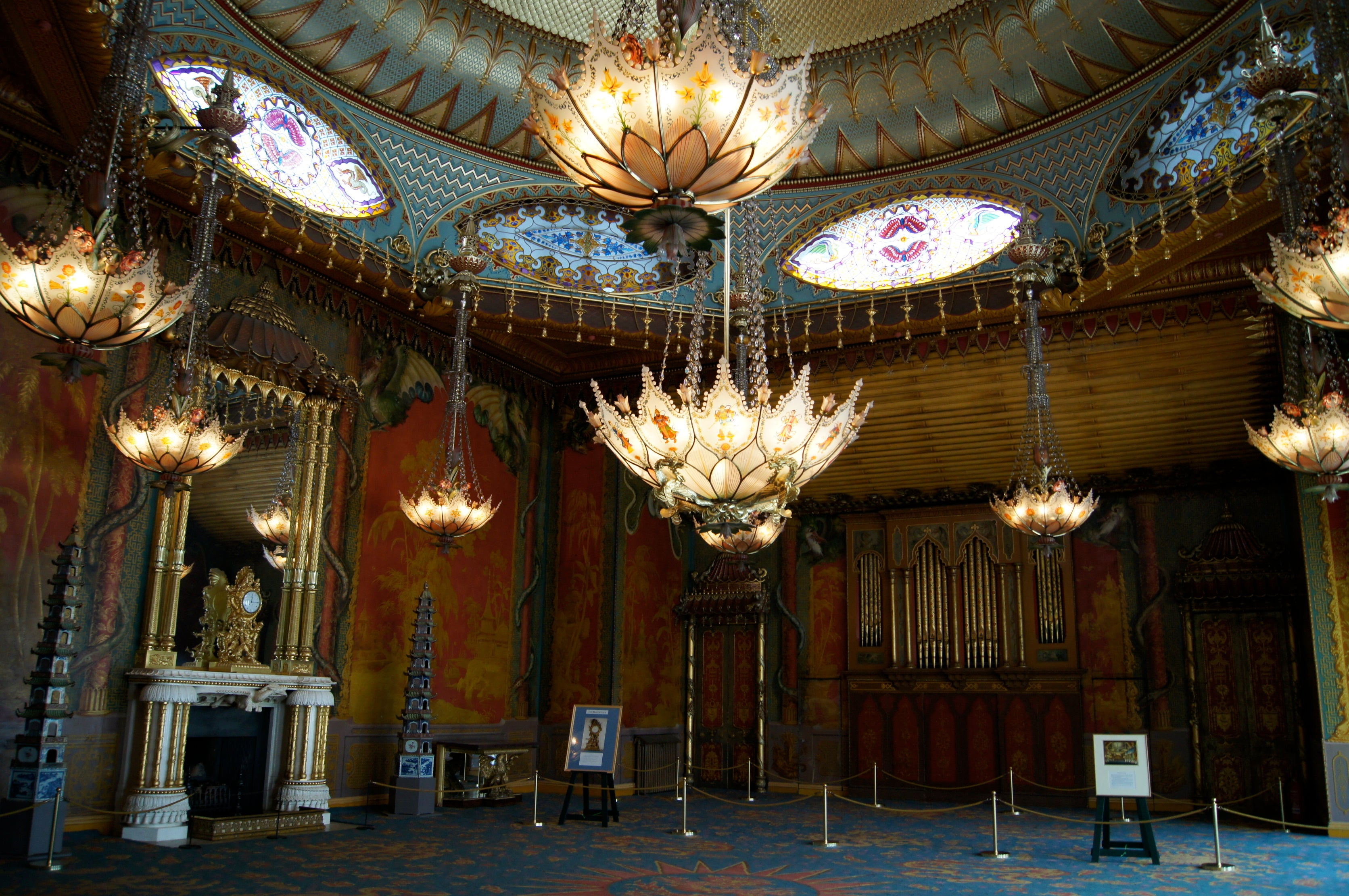 Sala en Royal Pavilion