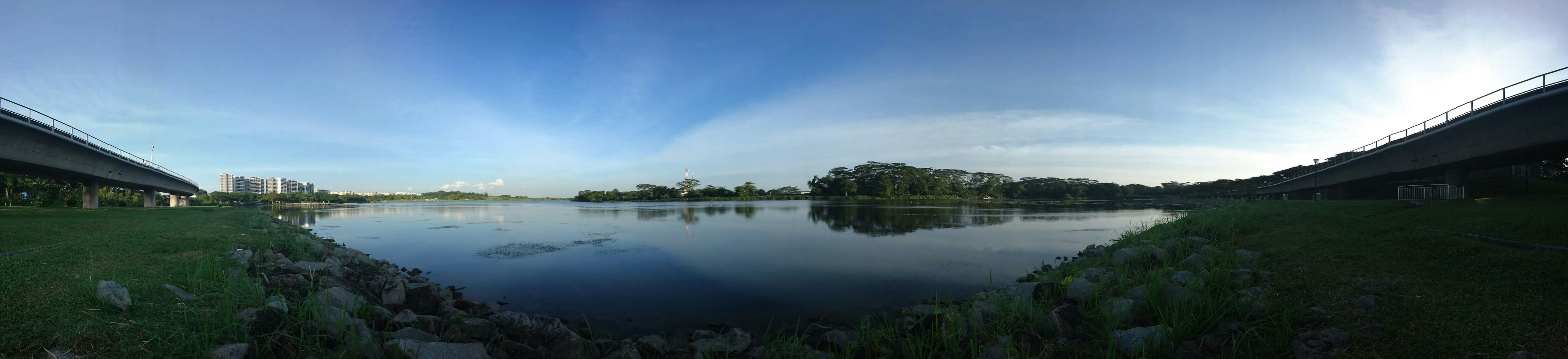 Reflejo en Lower Seletar Reservoir