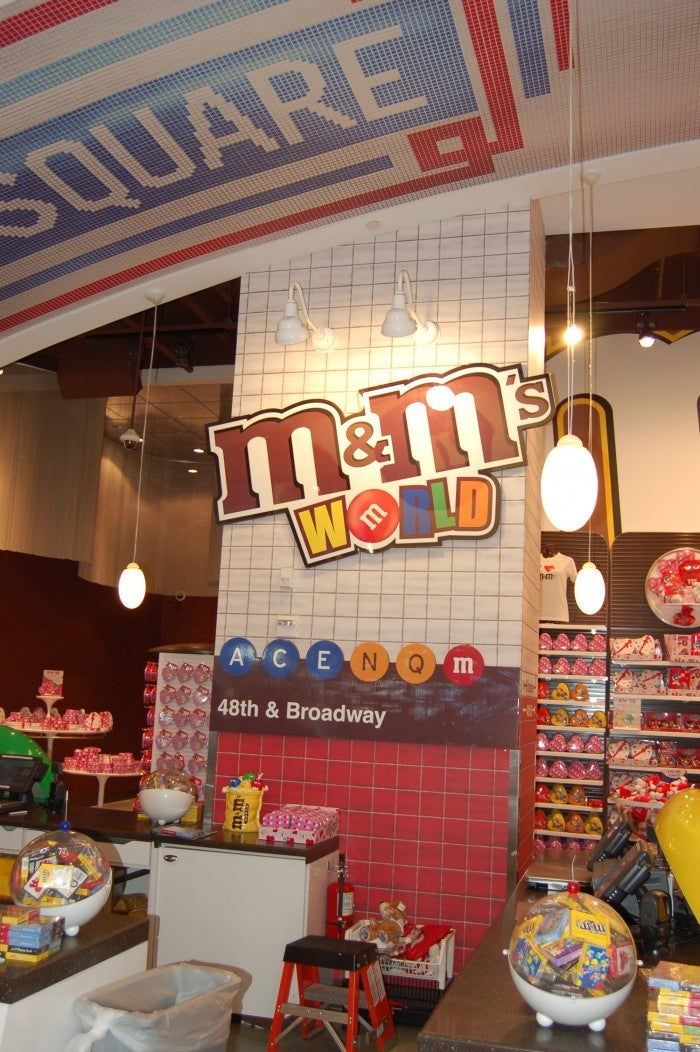 Sala en M&M'S World
